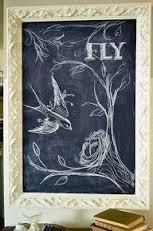 chalkboard fly