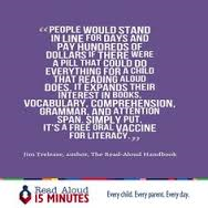 read aloud vaccine