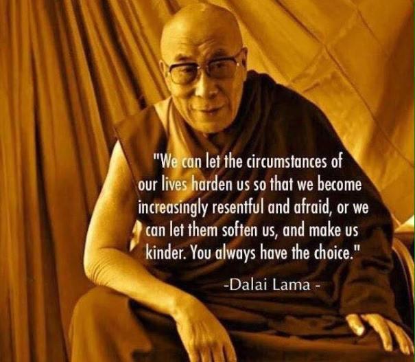 lama let life soften us