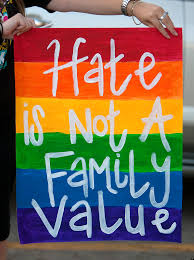 hate is not a family value