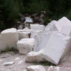 marble by waterfalls full