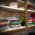 My husband's latest obsession? Dishes