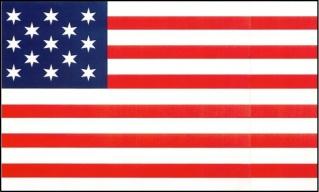 The Francis Hopkinson flag.