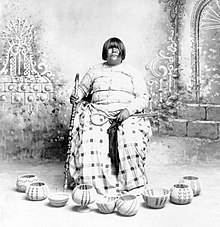 Renowned basket maker, Dat So La Lee